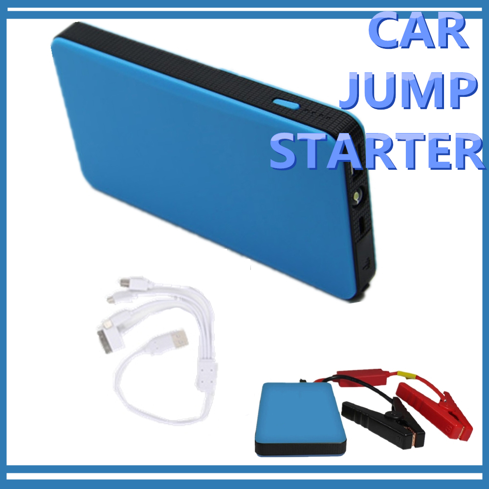 12V Car Jump Starter LED Light Multi Function Power Bank Emergency Charger Booster Battery Portable For Digital Devices Charging|charger for|charger for battery|charger charger - title=
