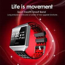 JQAIQ 2019 Ip67 Smart Bracelet Touch Screen Band Heart Rate Blood Pressure Wristband Sports Waterproof