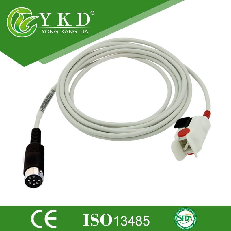 Datascope Passport XG Pediatric finger clip Spo2 sensor, 8pins, 3mDatascope Passport XG Pediatric finger clip Spo2 sensor, 8pins, 3m