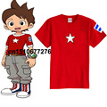 Anime Youkai Assista T-shirt Cosplay Kuroko Tetsuya t-shirt Nathan Adams Camiseta Manga Curta de algodão T