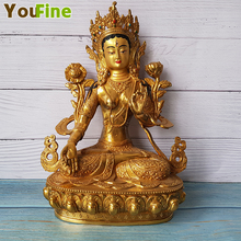 Bronze Buddha statue sculpture Temple supply large favorably Support customization