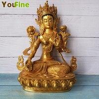 Bronze Buddha statue Buddha Buddha sculpture Temple supply large favorably Support customization