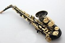 YAS-875EX Altsaxophon Flache Instrument Schwarz Nickel Vergoldung KOSTENLOSER VERSAND Messing Graviert Altsaxophon Musikinstrument