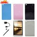 """Ultra Slim Дело Обложка Для Huawei MediaPad 8.0 M2-801W M2-803L 8 """"Tablet Мягкая Кремния Задняя Крышка Ударопрочный Защитный Чехол"""