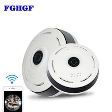 hot deal buy fghgf v380 mini wifi ip camera 360 degree camera ip 1.3mp fisheye panoramic 960p wifi ptz ip cam wireless video camera