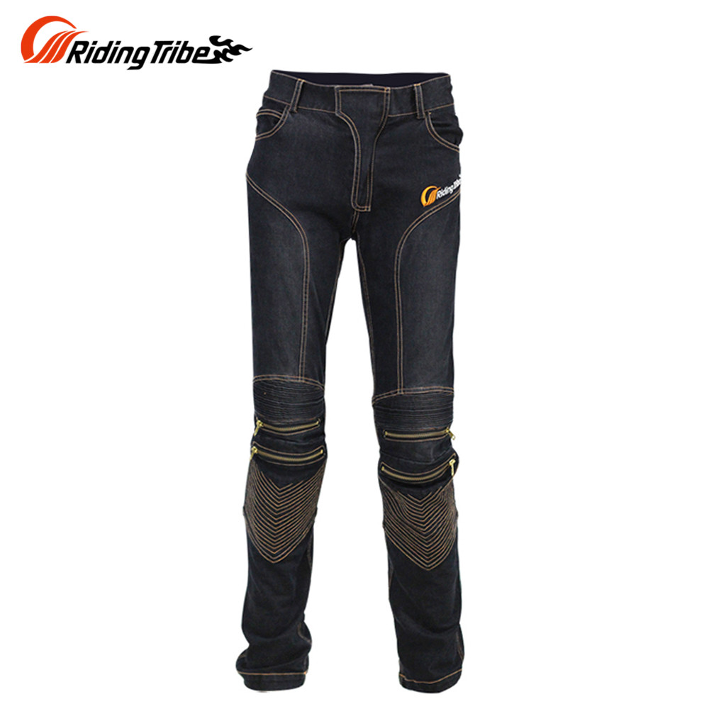 Riding Tribe Fashion Motorcycle Riding Jeans Motorcycle Motocross Moto Pants Jeans Motorbike Jeans Trousers for Men Moto Pants 2017 new fashion men slim fit stretch biker jeans patchwork elastic white jeans pants for motorcycle famous brand size 28 to 38