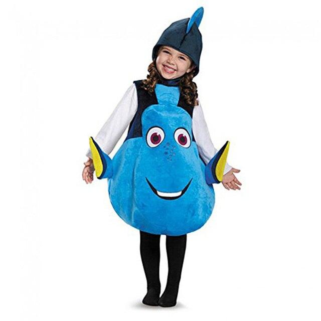 Enfant Et Adulte Nouveau Clown Poisson Dori Costume Animaux Marins