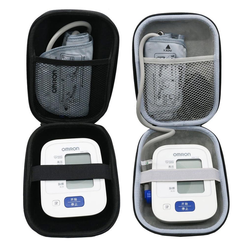 Newest EVA Hard Case for Omron 10 Series Wireless Upper Arm Blood Pressure Monitor  BP786   BP785N   BP791IT  Travel Storage Box