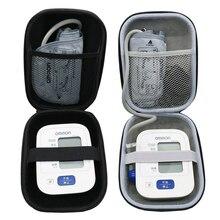Nieuwste EVA Hard Case voor Omron 10 Serie Draadloze Bovenarm Bloeddrukmeter (BP786/BP785N/BP791IT) reizen Opbergdoos
