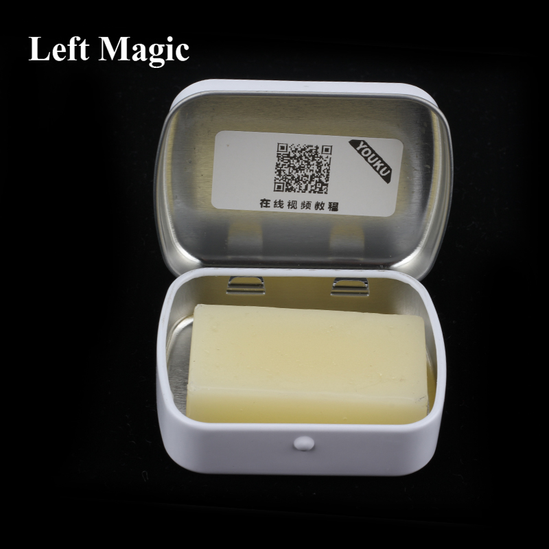 Roughing Sticks Magic Solid Stop For Invisible Deck Tricks Close Up Solid Magic Solitaire Poker Slipper Roughing Sticks