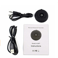 New 1pcs Lot Bluetooth 4 0 Multi Point Bluetooth Audio Transmitter Music Signal Sender For Smart