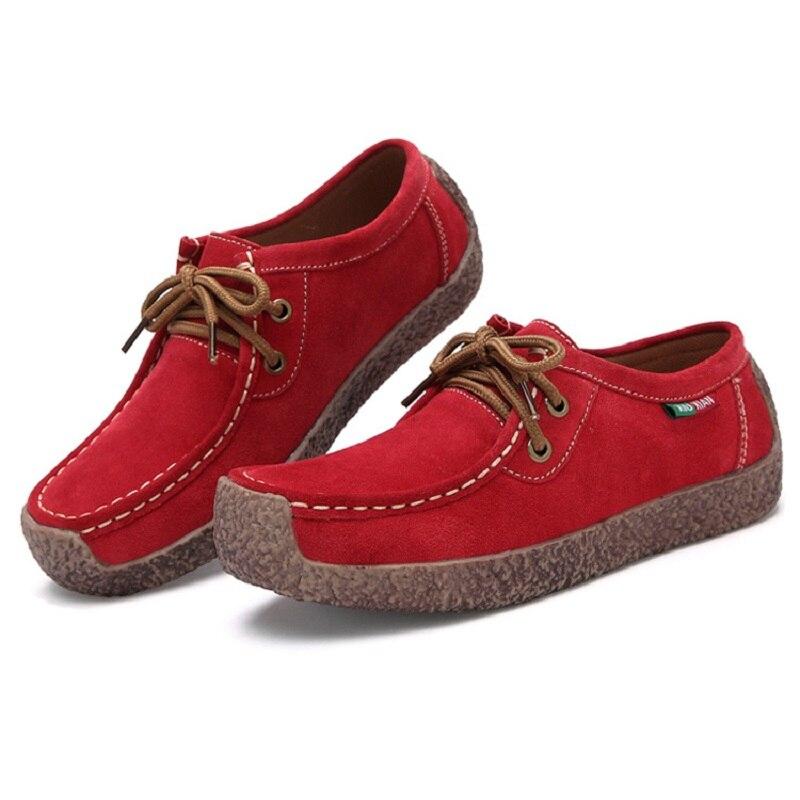 nuevo estilo Británico de las mujeres respirables ocasionales zapatos femeninos