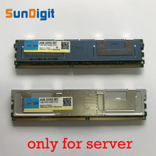 Server Memory For Samsung Hynix DDR2 4GB 2GB 8GB 16GB DDR2 667MHz PC2-5300 2Rx4 FBD ECC PC2-5300F FB-DIMM RAM Lifetime Warranty new 10x1gb pc2 5300 ddr2 667 667mhz 240pin dimm laptop memory pc5300 667mhz ddr2 low density ram free shipping