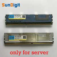 Pour Hynix DDR2 4 GO 2 GO DDR2 667MHz PC2-5300 2Rx4 FBD ECC PC2-5300F FB-DIMM RAM Seulement Pour Serveur Mémoire Béliers Garantie À Vie