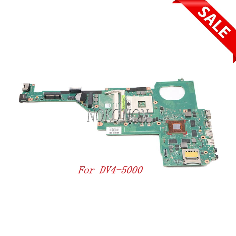 Nokotion 694763-001 694763-501 694763-601 For HP Pavilion DV4-5000 Laptop motherboard HM77 HD7600MNokotion 694763-001 694763-501 694763-601 For HP Pavilion DV4-5000 Laptop motherboard HM77 HD7600M
