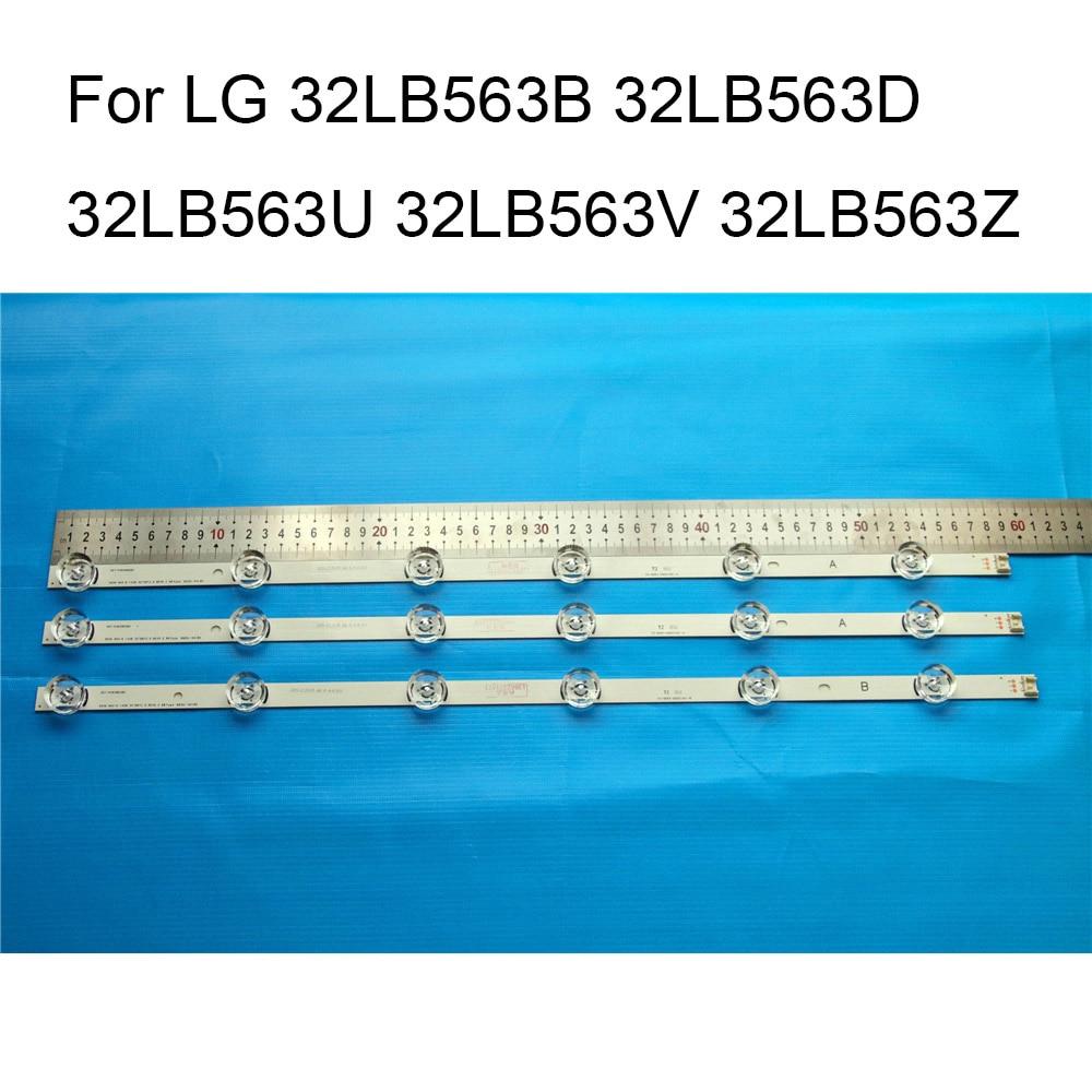 Brand New LED Backlight Strip For LG 32LB563V 32LB563B 32LB563D 32LB563U 32LB563Z TV Repair LED Backlight Strips Bars A B Strip