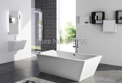 1900X800X640 мм CUPC одобренный акриловый с стекловолокном полимерная Ванна Отдельно Стоящая бесшовная замачивающая Ванна RS6533