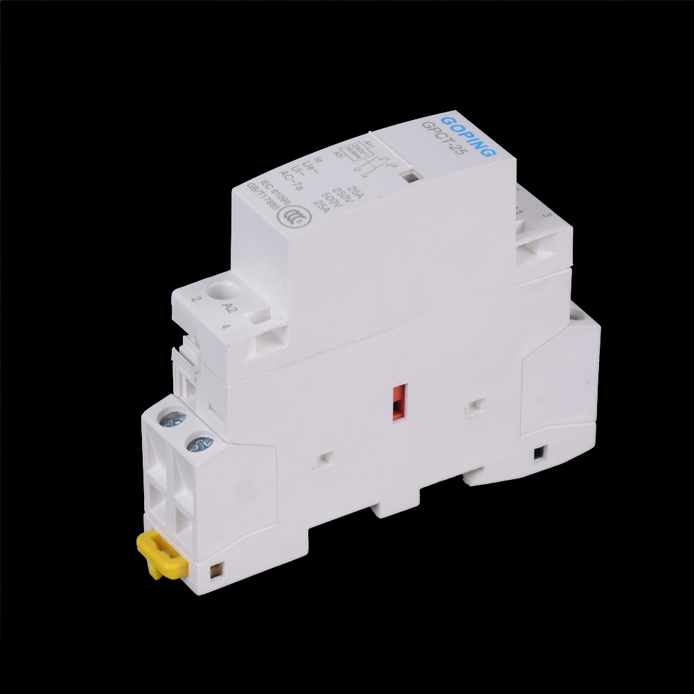 AC Modular contactor 2NO GPCT 25A 2P 2NO 220V 50/60HZ Din rail Household|household|household contactor|  - title=