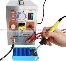 1900W 709A 110V 60A Pulse Spot Welder Welding Machine Battery Charger Pen+ Iron