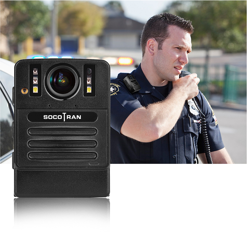 "SOCOTRAN DSJ S9 HD live Law Enforcement Recorder Police body video camera with 2"" LCD display,2304x1296P Resolution,16GB Memory -in Walkie Talkie from Cellphones & Telecommunications"