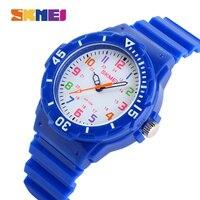 Skmei 1043 Children Watch Fashion Casual Watches Quartz Wristwatches Waterproof Jelly Kids Clock Boys Hours Girls