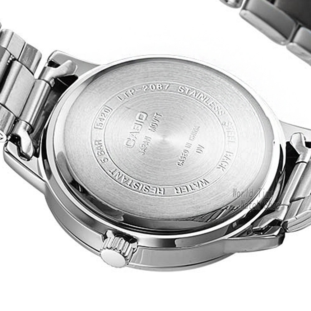 Casio horloge Analoge vrouwen Quartz Sport Horloge Fashion Business Waterdicht Horloge LTP 2087-in Dameshorloges van Horloges op  Groep 2