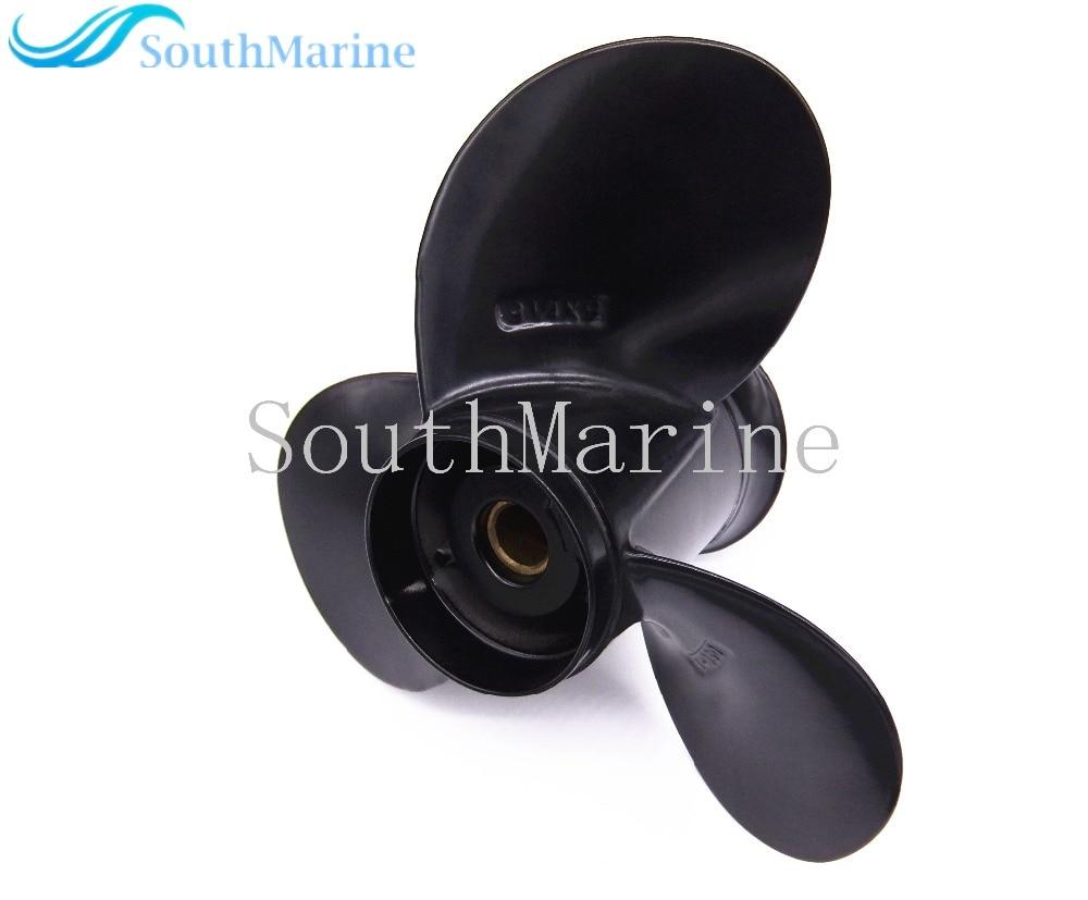 9 1 4X9 Boat Engine Aluminum Alloy Propeller for Suzuki 9 9HP 15HP Outboard Motors 9