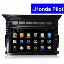 1024*600 Android Touch Screen Car Autoradio for Honda Pilot DVD GPS Navigation Bluetooth 3G WIFI 2 Din Headrest Car DVD Player