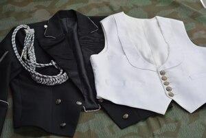 Image 4 - فستان سهرة ضابط EMD ، صوف قطني طويل