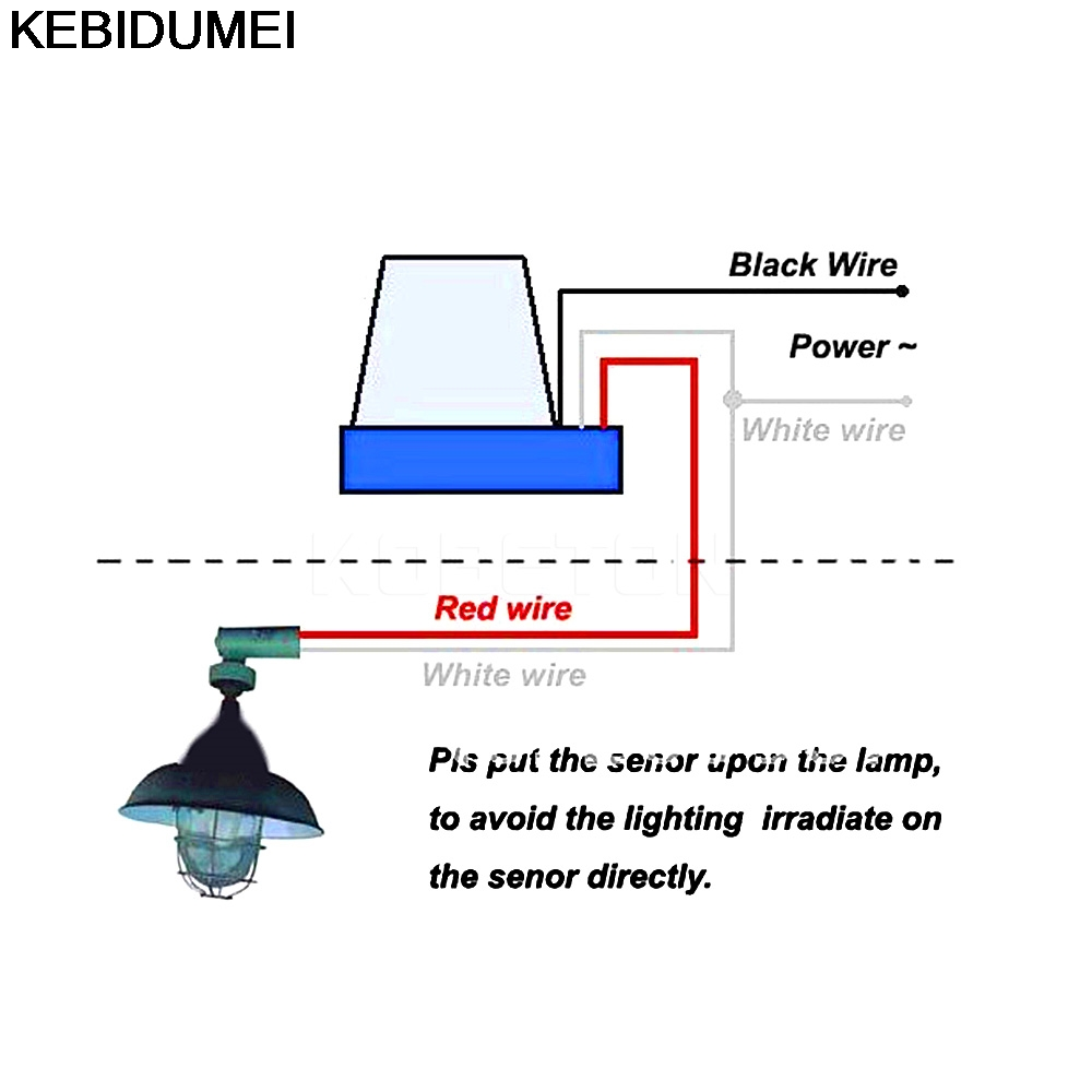 switch automatic auto on off photocell street light switch dc ac rh aliexpress com Photocell Sensor Circuit Diagram Dusk to Dawn Photocell Wiring
