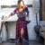 2xl boho étnico retro otoño maxi dress mujeres sexy con cuello en v Ladies Media Manga Sueltos Vestidos de Playa larga Vestido de Tirantes Tamaño Grande Vestido