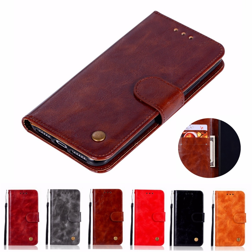 Fashion Wallet <font><b>Case</b></font> For <font><b>LG</b></font> <font><b>Q6</b></font> <font><b>Q6</b></font> Plus Handset cover For <font><b>LG</b></font> <font><b>Q6</b></font> Alpha Phone Bag with Stand Extravagant Retro PU Flip Leather <font><b>Case</b></font> image