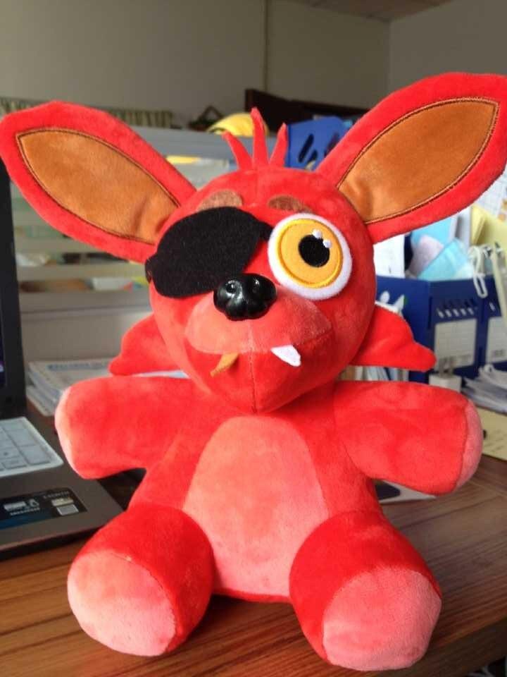 1PC 25CM Five Nights At Freddy's FNAF Freddy Foxy Bonnie Chica Kids Toys  Animals Plush Dolls Stuffed Animals