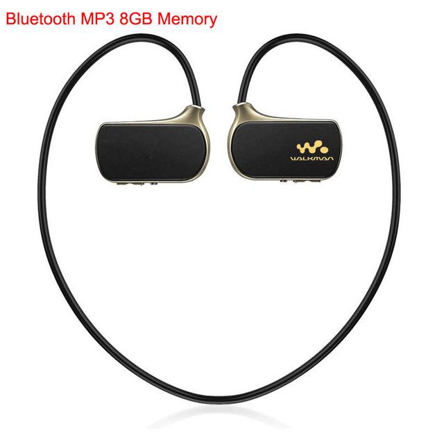 Esporte Sem Fio Bluetooth MP3 Real Player 8 GB para Filho WS615 8G Execução Reprodutor mp3 Música Walkman NWZ W273 jogadores Fones De Ouvido