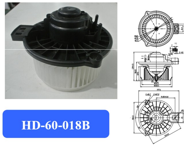 Automotive air conditioning blower motor,Electronic fan motor,city blower motor Suitable for Japanese car