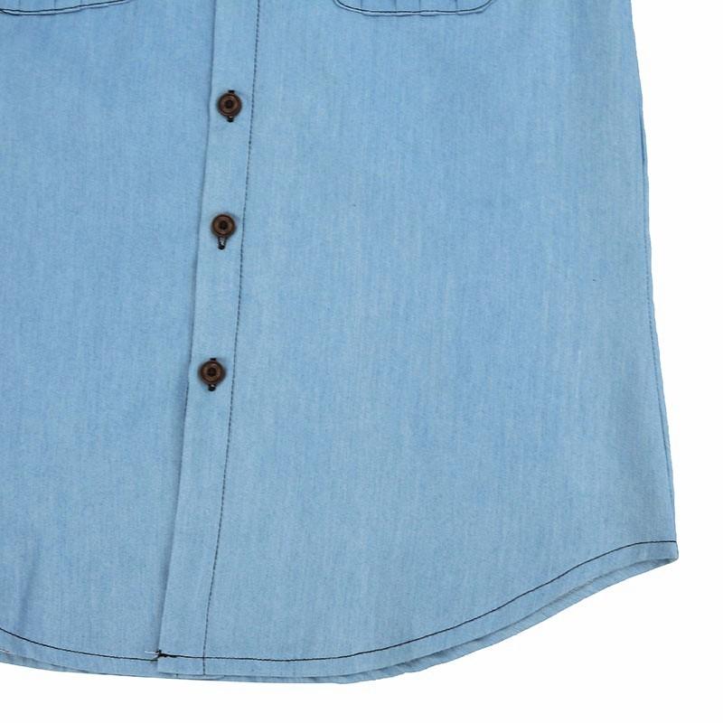 HTB1sxJWNXXXXXcuXVXXq6xXFXXXm - Blouses Sexy Sleeveless Jeans Denim Blue Shirts Female Casual