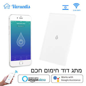 Switch Glass-Panel Water-Heater Voice-Control Smart-Boiler Tuya Wifi Home Alexa Google