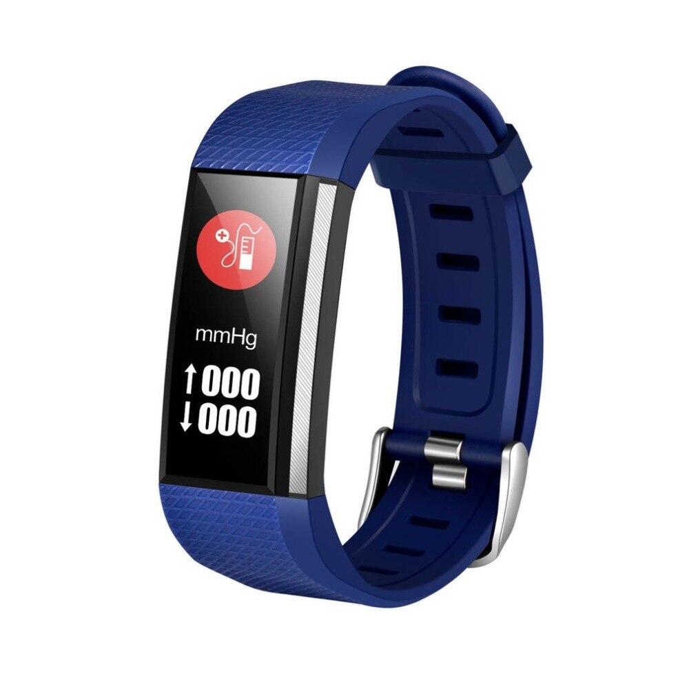 M200 Color Screen Smart Bracelet Sports Band Heart Rate/Blood Pressure Monitor Wristwatch Waterproof Wristband Fitness Tracker