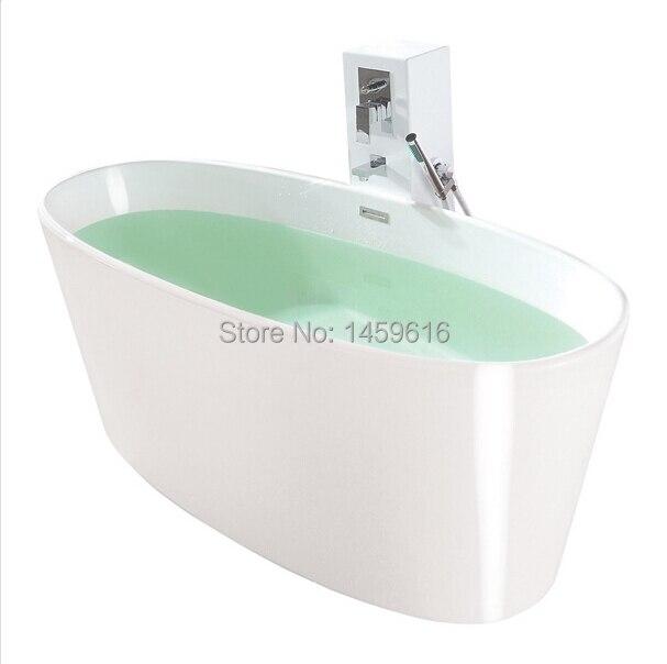 FREE SHIPPING ARTIFICIAL STONE BATH TUB - STONE - SOLID SURFACE - True Solid Surface Soaking Tub - Vinyasa Glossy 1016