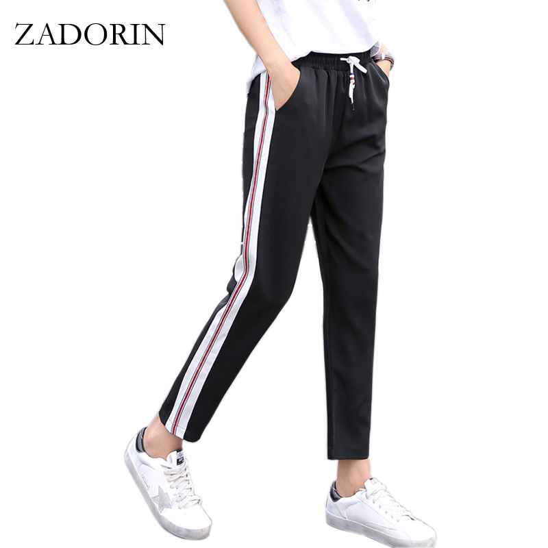 Awesome 2017 Fashion Leisure Trousers Trumpet Long Pant Women High Waist Zipper Fly Wide Leg Pants Paige ...