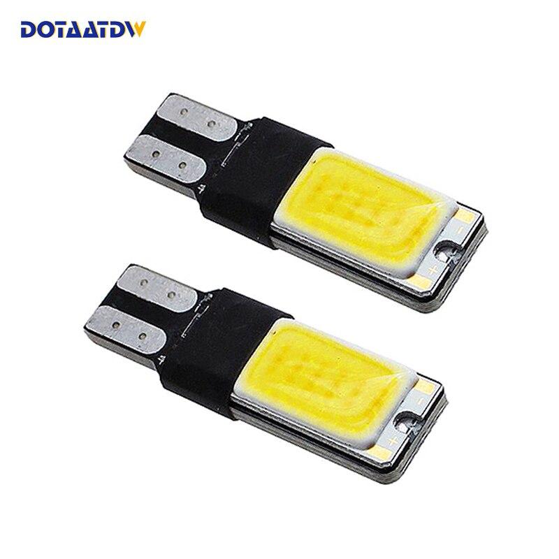 2x T10 W5W 168 194 CANBUS без ошибок CREE чип LED авто DRL Замена габаритный фонарь парковки лампы для автомобиля источник света
