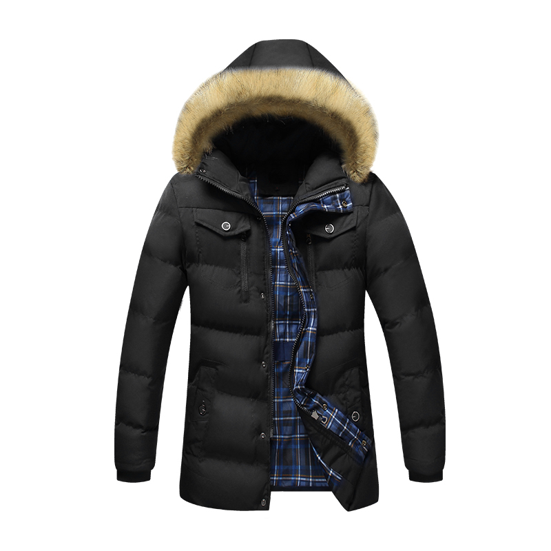 Bolubao New Men Winter Jacket Coat Fashion Brand Clothing Fur Hooded Detachable Cotton Padded Male Warm Down Parkas Outerwear new men winter jacket fashion brand clothing cotton padded down parka male thick warm comfortable outerwear coat hood detachable