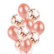 Rose Gold Balloon, Wedding globo, Party decoration, supplies, Bachelor Party,  Inflatable Air Balls Globos, blush balloon