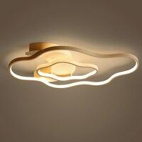 Post Modern Led Ceiling Lamp Living Room Lamp Household Romantic Warm Bedroom Dining Room Ceiling Light