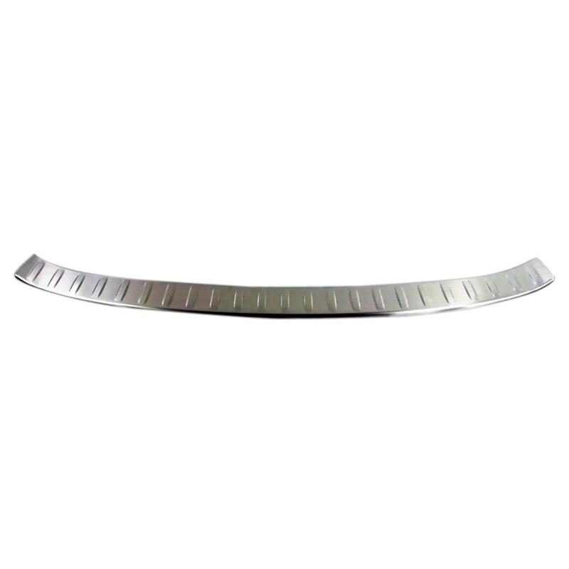 For Jaguar F-Pace f pace X761 2016  2017 Stainless Steel Outer Rear Bumper Guard Plate Trim 1PCS For Jaguar F-Pace f pace X761 2016  2017 Stainless Steel Outer Rear Bumper Guard Plate Trim 1PCS
