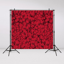 3D Tapestry wall hanging Red rose Wedding Bedspread Dorm Cover Beach Towel Backdrop Home Room Wall Art Decordecoracion GT27