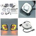 Kit de luz antiniebla Rectangular LED de señal de giro TCMT para Honda Goldwing GL1800 F6B Valkyrie 2012-2017 motocicleta