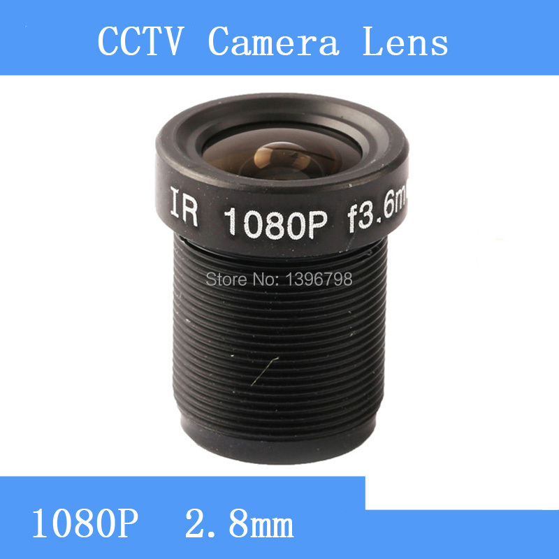 PU`Aimetis Factory direct surveillance camera lens M12 interfaces  F2 fixed aperture 2MP 3.6mm CCTV lens mf2300 f2