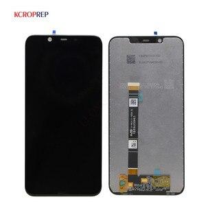 Image 1 - Оригинальный ЖК дисплей для Nokia 8,1 TA 1131, 10 дюймов, сенсорная панель, экран для Nokia X7, ЖК сенсорный экран, дигитайзер в сборе