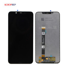 Original For Nokia Nokia 8.1 TA 1131 LCD Display 10 Touch Panel Screen For Nokia X7 LCD Touch screen Digitizer assembly